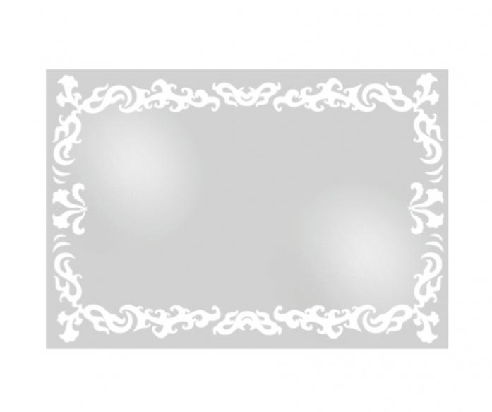 Зеркало интерьерное Lustro Ceti (с внутренней подсветкой, 79х55)