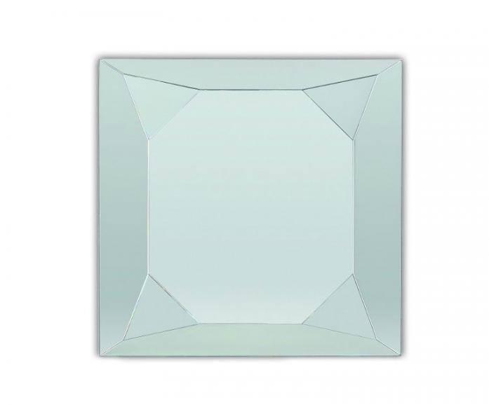 Зеркало интерьерное Lustro Diamonte Silver 90х90