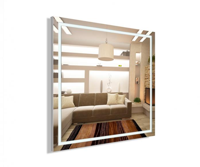 Зеркало интерьерное Lustro Volano 66x66 PS