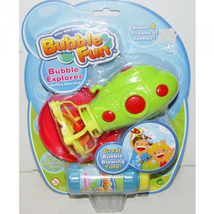 Набор для пускания мыльных пузырей Bubble Fun Подводная лодка DHOBB10047