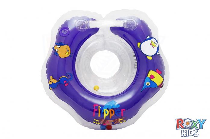 Круг музыкальный Flipper на шею для купания малышей FL003