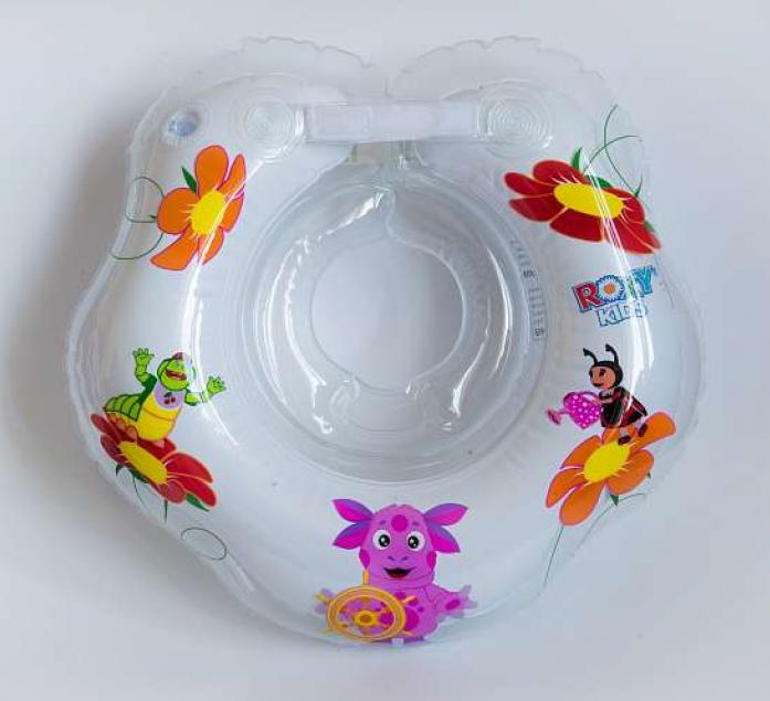 "Круг ""Roxy-kids"" для купания малышей от 1,5 лет Лунтик 2+ LR002"