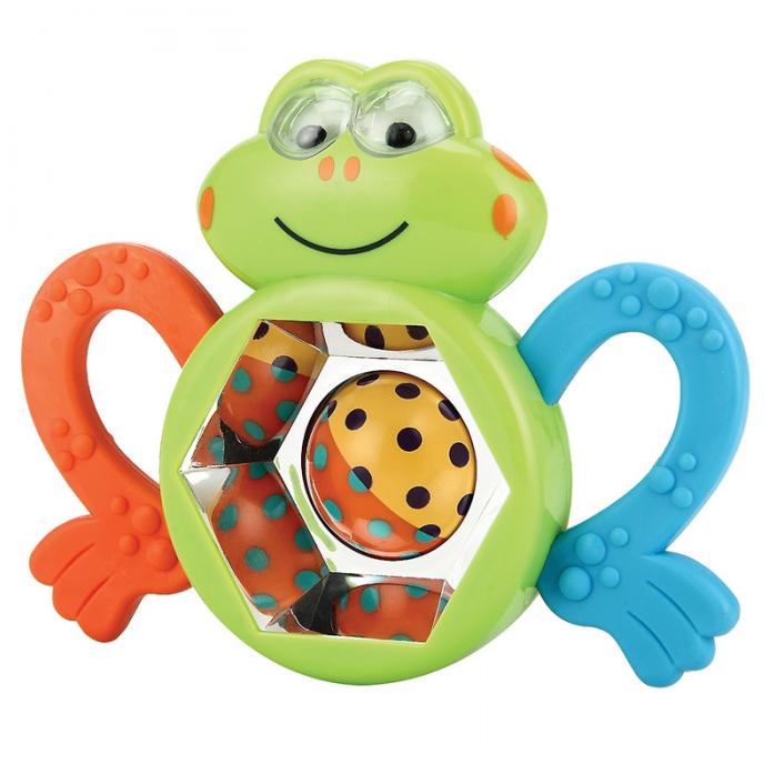 Погремушка Happy Baby Смешной лягушонок 330303