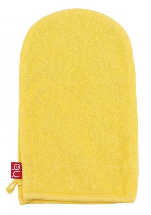 Мочалка-рукавичка Happy Baby Wash & Bath 35005 Yellow