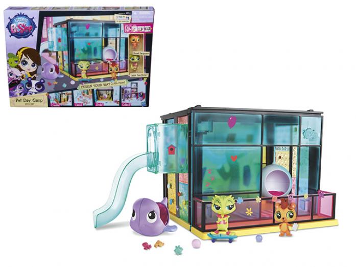 Игровой набор Littlest Pet Shop Стильный летний лагерь A9478ES0 LPS