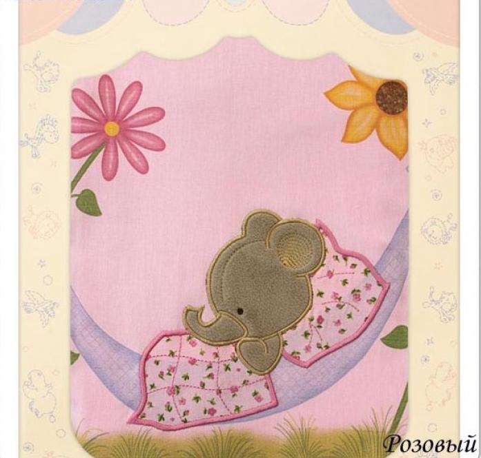 Комплект постельного белья Золотой Гусь Сладкий сон розовый 7 предметы 1096