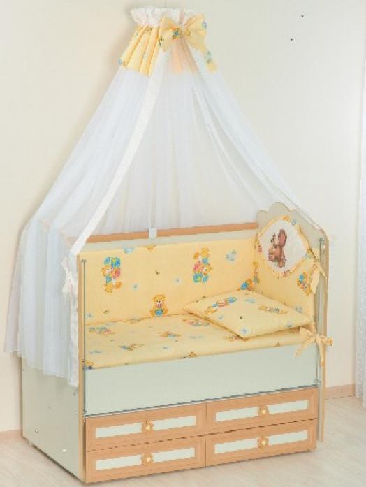 Комплект постельного белья Сдобина 7 предметов Арт. 02 бежевый