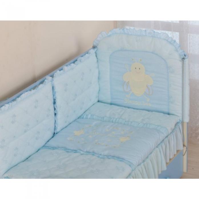 Комплект постельного белья Сдобина Пеша 48.2 голубой