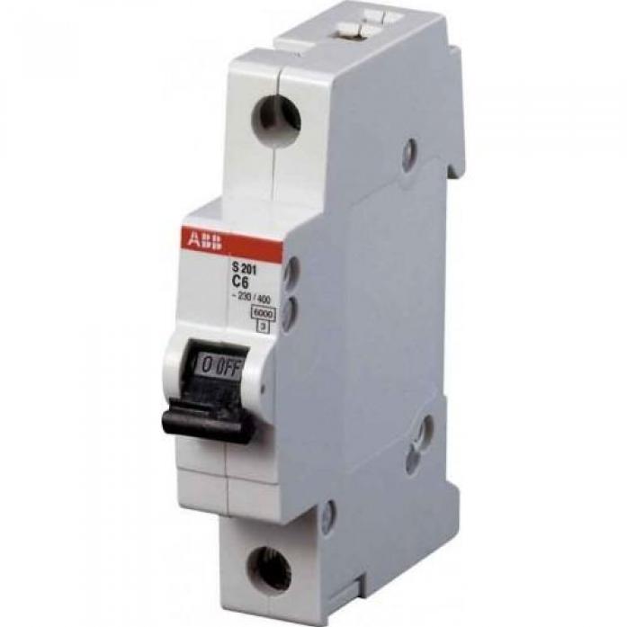 Автоматический выключатель ABB S201 1P 25А (С) 6kA