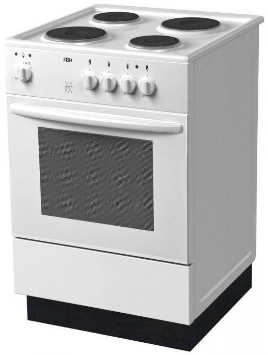 Электрическая плита ЗВИ 417 Белая