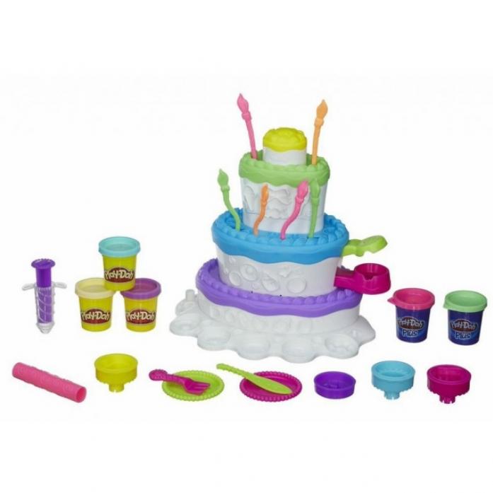 Набор Play-Doh Праздничный торт A7401