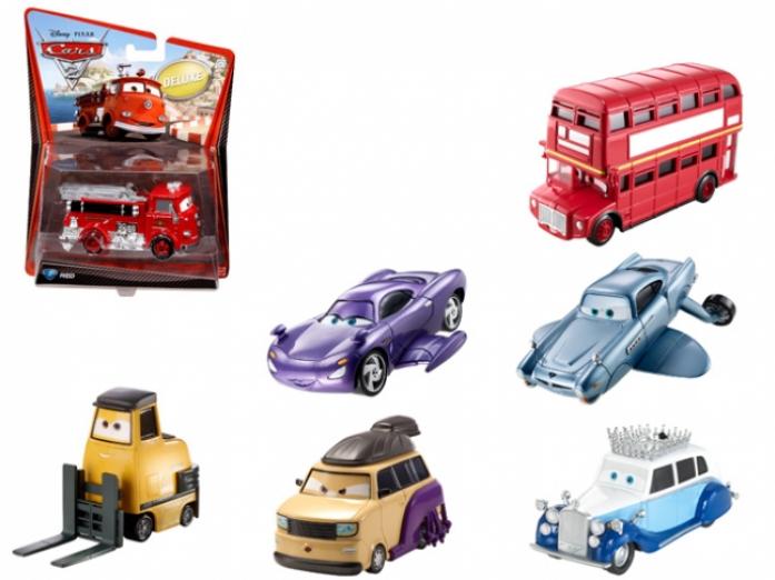 Машинка Mattel Тачки 2 Делюкс V2851/V2843