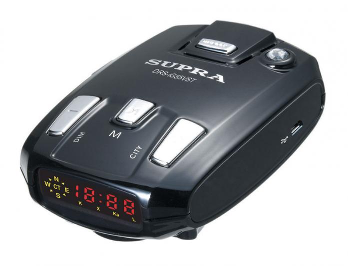 Автомобильный радар-детектор Supra DRS-iG55VST