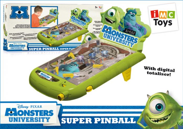 Пинбол Imc Toys Monster University со звуком и светом 300033