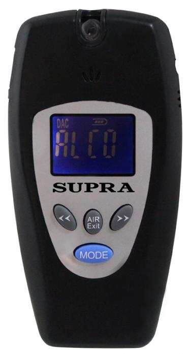 Персональный алкотестер Supra ATS-301 black