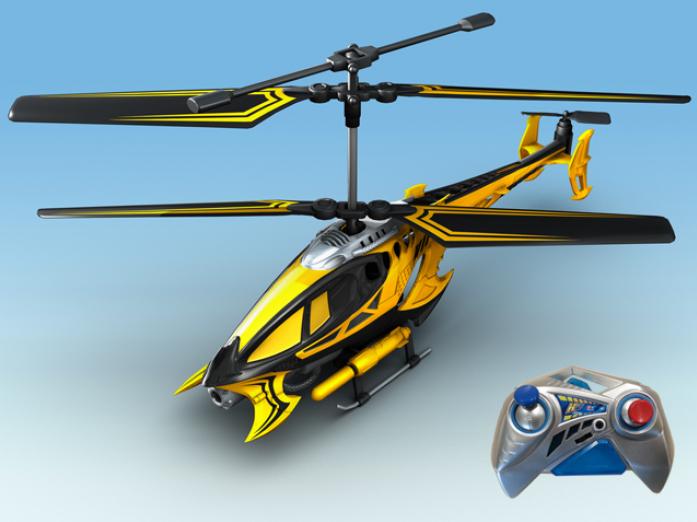 Вертолет Auldey VIPER с гироскопом с военной ракетной установкой 28см YW858527-F