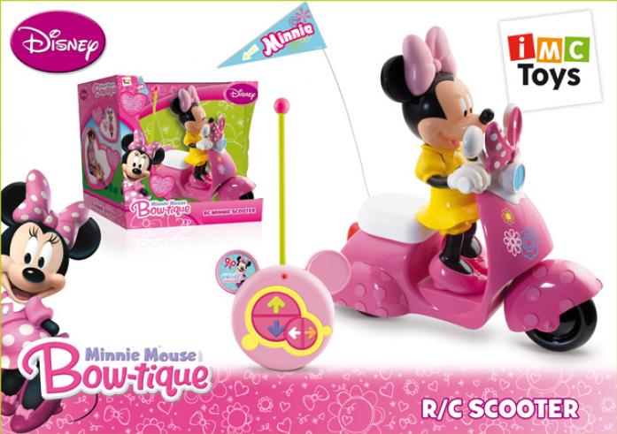 Машинка Imc Toys Скутер с мышкой Minnie 180673