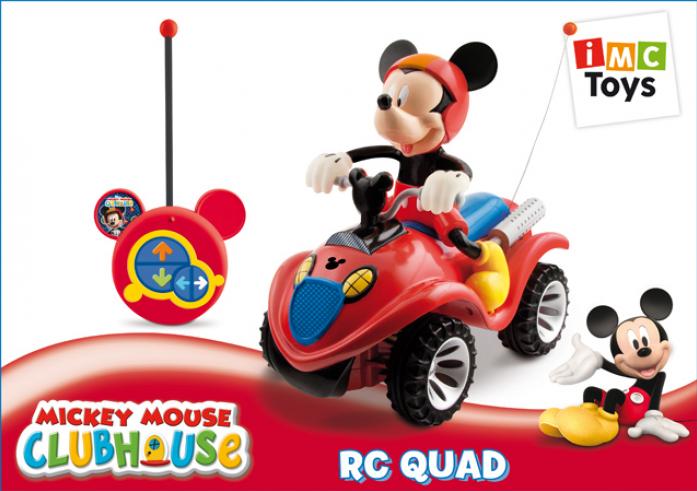 Машинка Imc Toys Квадроцикл+фигурка Mickey Mouse 180840
