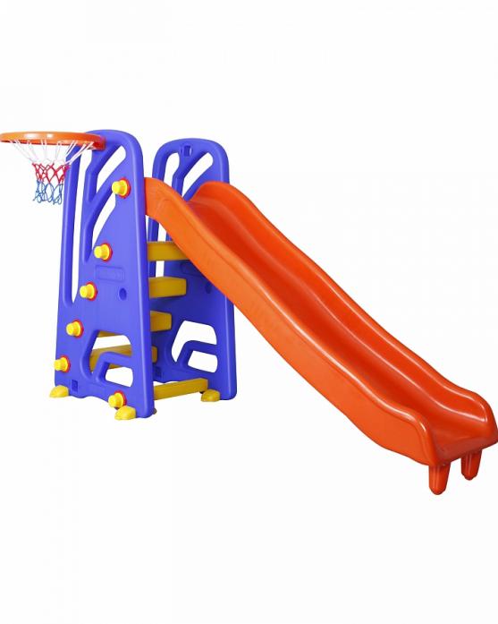Игровой комплекс Pilsan Детская горка + баскетбольное кольцо WAVY SLIDE 06142