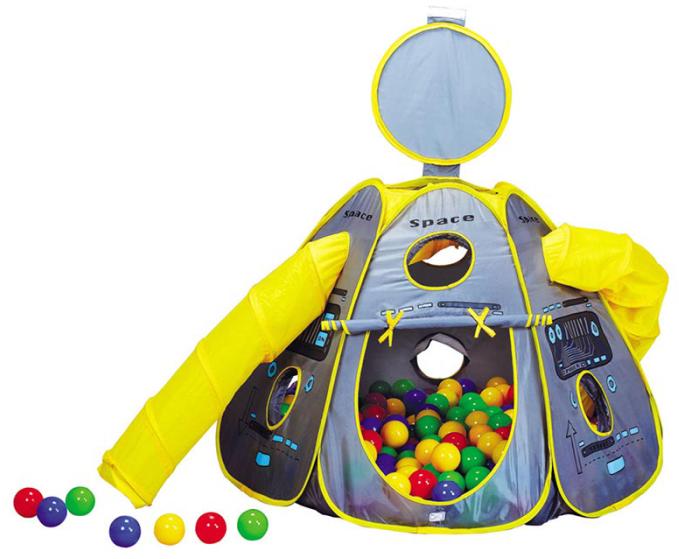 Домик Calida Космический корабль + 100 шаров 665