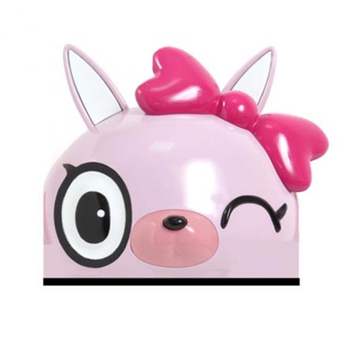 Шлем Rexco 3D КОШЕЧКА ПИЧЧИ розовый HPG015