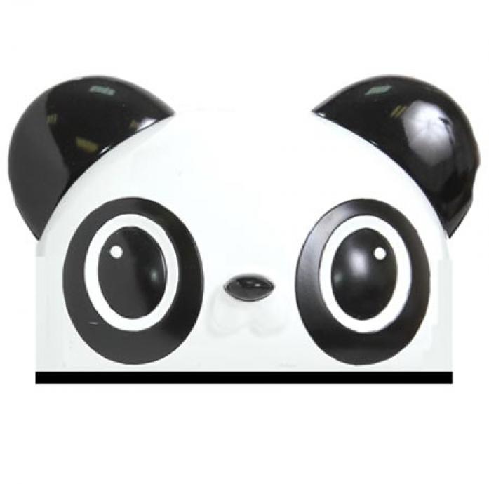 Шлем Rexco 3D ПАНДА черный HPG014