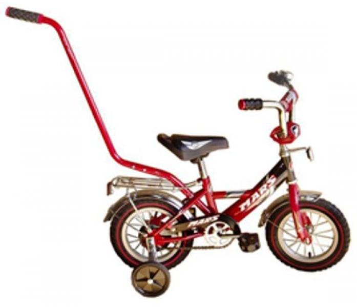 """Велосипед двухколесный Mars 14"""" С1401 Red/black с ручкой"""
