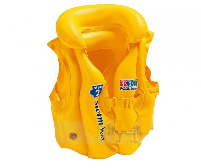 Жилет Intex Люкс желтый 50*47см 58660EU