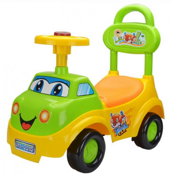 Каталка Toysmax ВЕСЕЛЫЙ ГРУЗОВИЧОК желтый 5515
