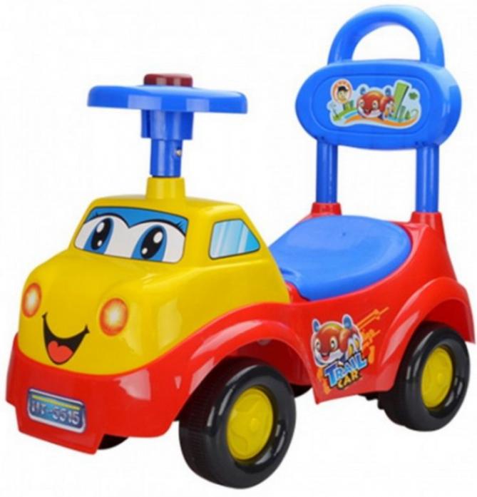 Каталка Toysmax ВЕСЕЛЫЙ ГРУЗОВИЧОК красный 5515