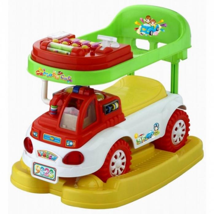 Каталка Toysmax ГРУЗОВИЧОК 3в1 красный 9323
