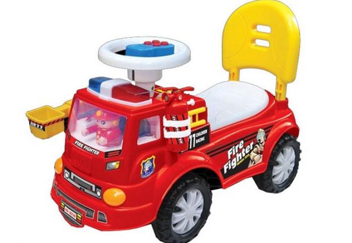 Каталка Toysmax ПОЖАРНАЯ красная 3658