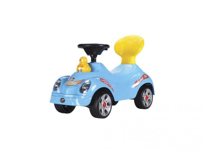 Каталка Toysmax УТЕНОК голубая 5509