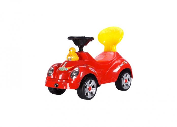 Каталка Toysmax УТЕНОК красная 5509