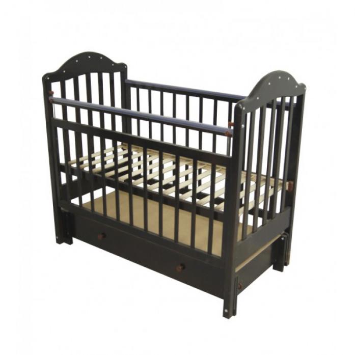 Кровать Ивашка Мой малыш 10 венге