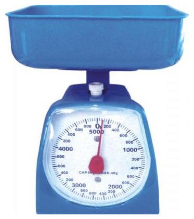 Кухонные весы Irit IR-7130 голубой