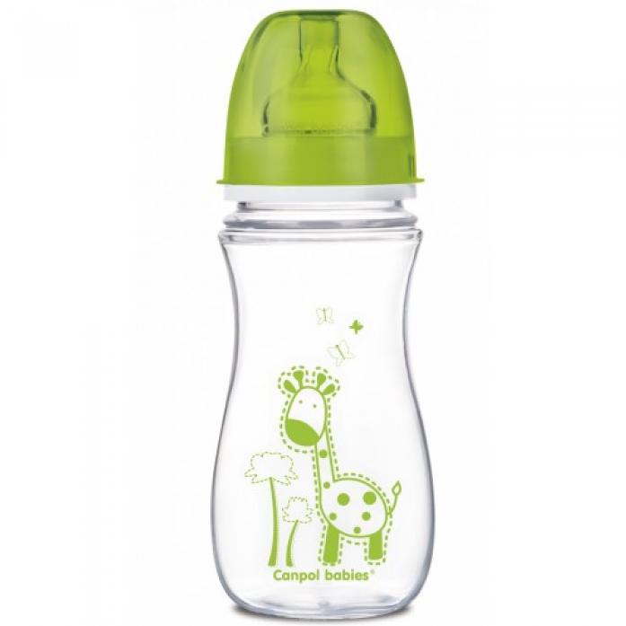 Бутылочка Canpol babies бутылочка пластиковая + соска 300мл 35/204
