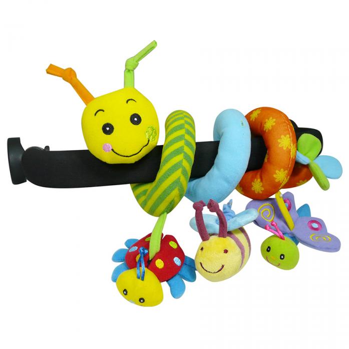 Игрушка-подвеска Biba Toys УЛИТКА GD074