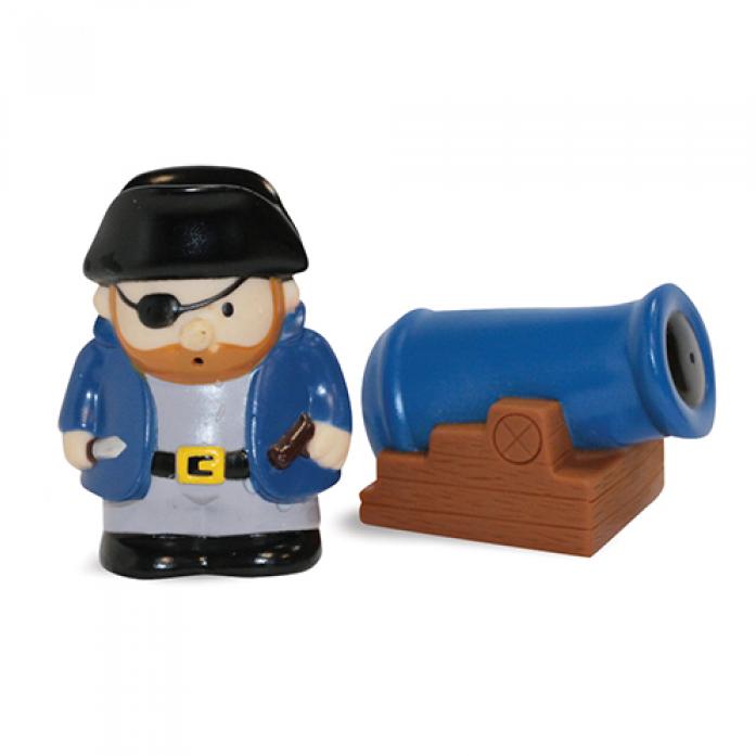 Игрушка для ванной Lubby Пират Джо 12+ 13835