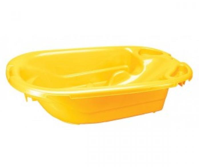 Ванна детская Бытпласт желтая 431300806