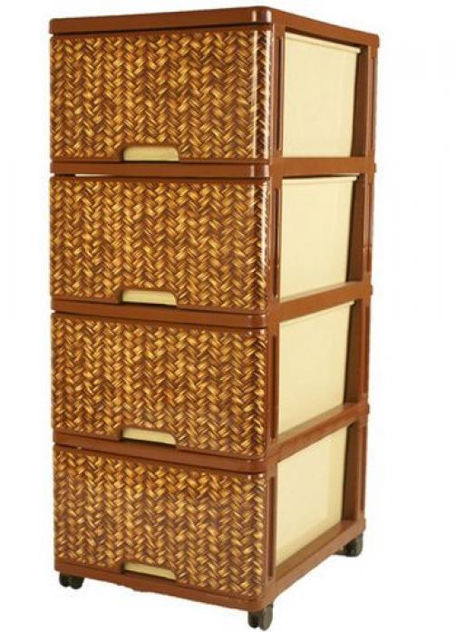 Ящик для игрушек Dunya Plastic Косичка 0403-3