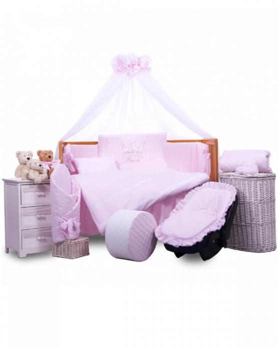 Комплект постельного белья Tuttolina PRINCESS 6HD/95 розовый