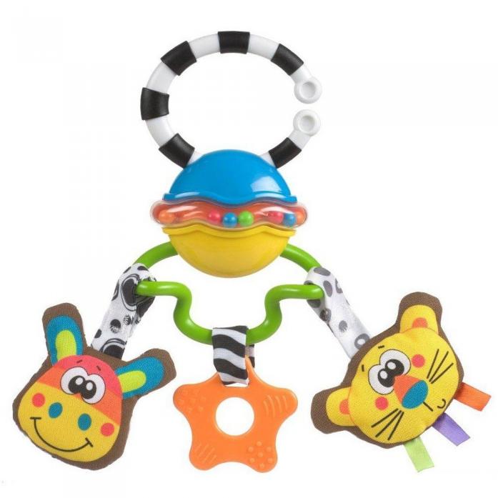"""Игрушка-подвеска Playgro """"Сафари"""" арт. 0182253"""