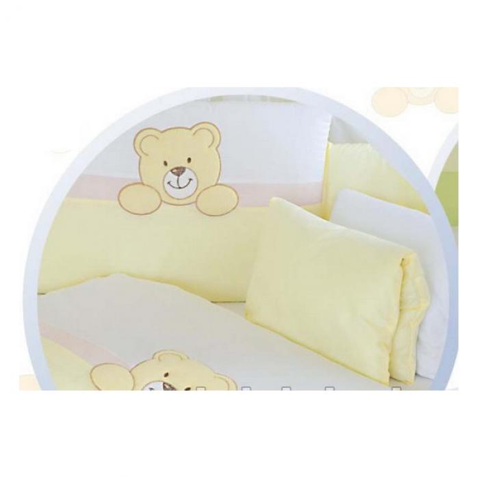 Комплект постельного белья Tuttolina TEDDY BEAR 6HD/26 бежевый