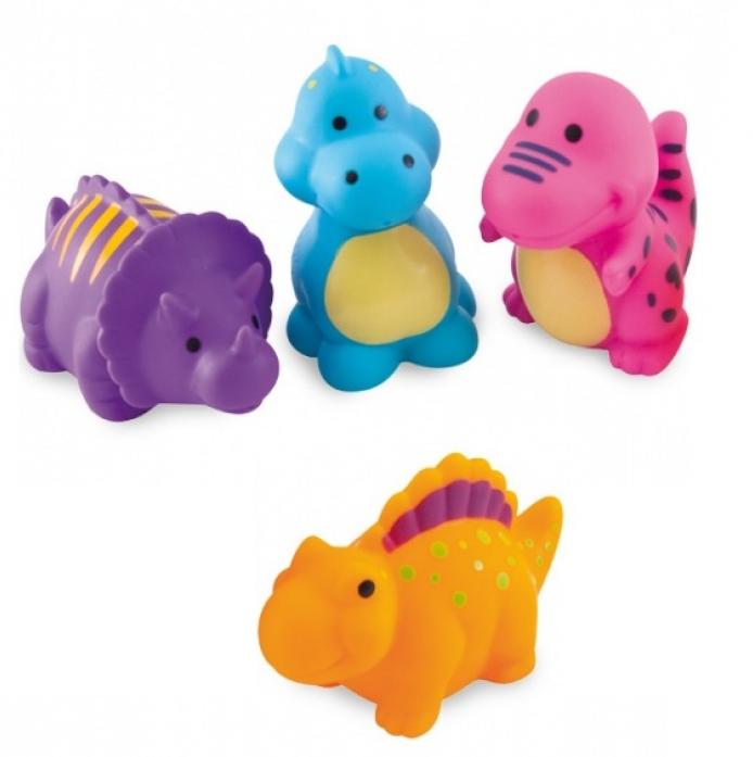 Игрушка для ванной Canpol babies Динозаврики 4шт 2/995