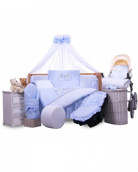 Комплект постельного белья Tuttolina MY FRIENDS 6HD/92 голубой