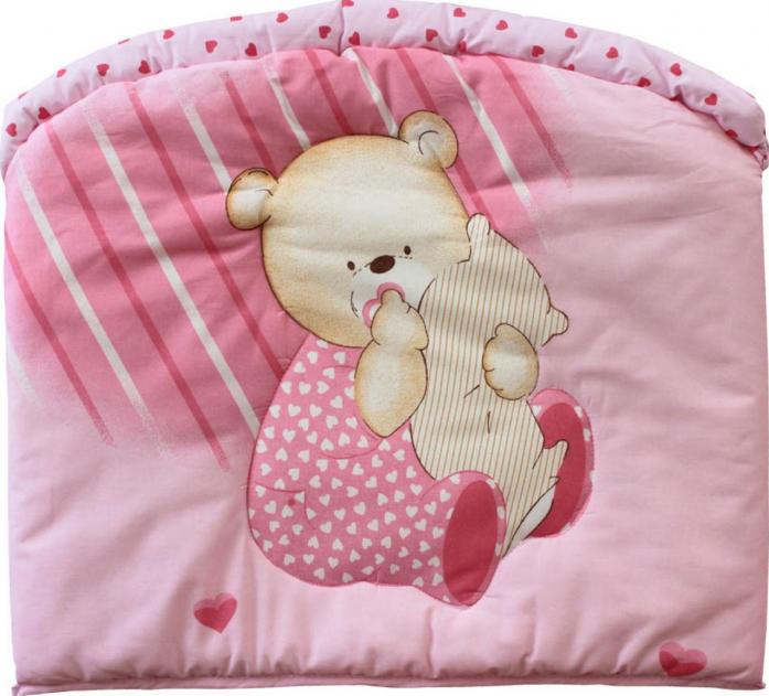 Бампер Золотой Гусь Мишутка 4046 розовый