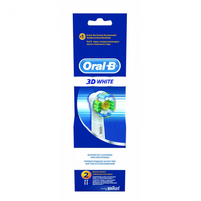 Насадка для зубных щеток Oral-B EB18 3DWh (2шт)
