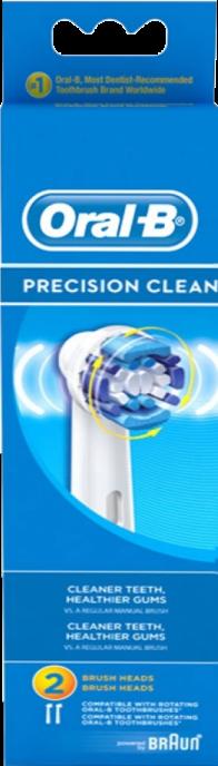 Насадка для зубной щетки Oral-B Precision Clean EB 20-2