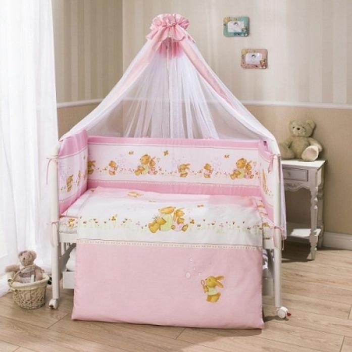 Комплект постельного белья Perina Фея Лето Розовый Ф7-01.3 (7 предметов)